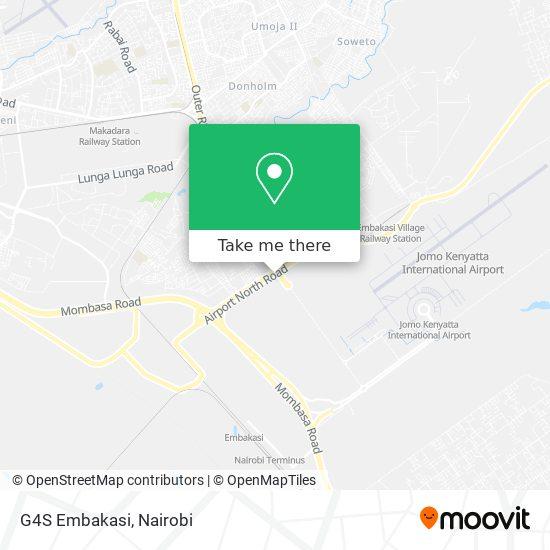 G4S Embakasi map
