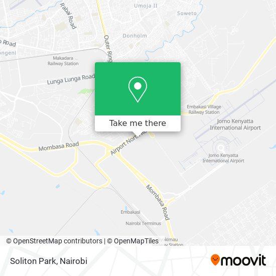 Soliton Park map