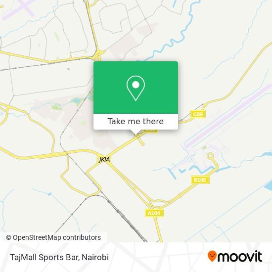 TajMall Sports Bar map