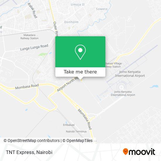 TNT Express map