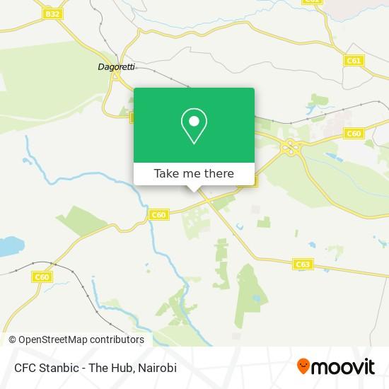 CFC Stanbic - The Hub map
