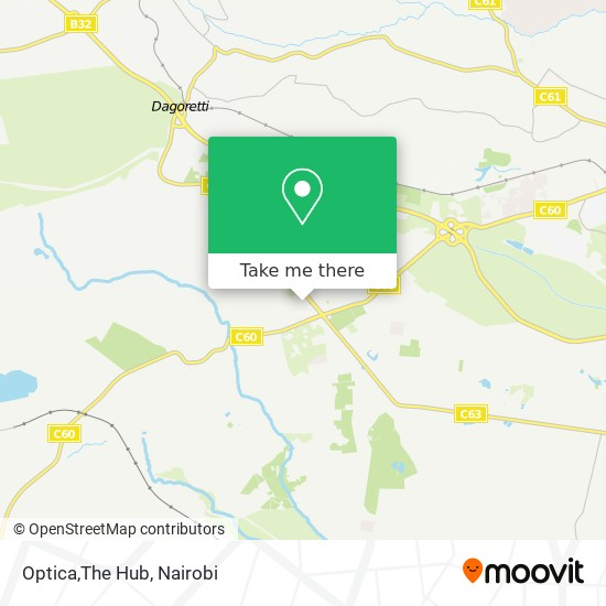 Optica,The Hub map
