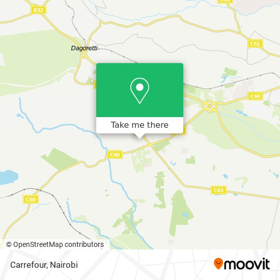 Carrefour map