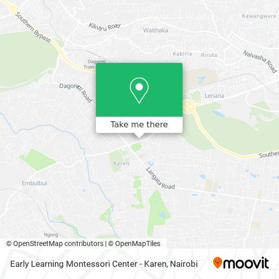 Early Learning Montessori Center - Karen map