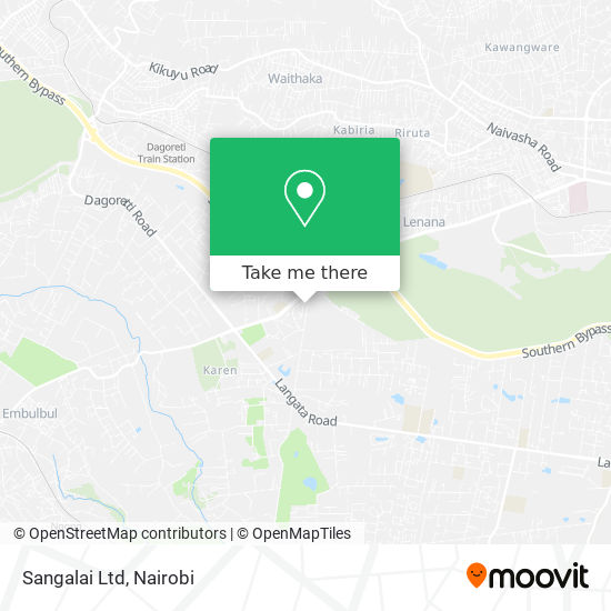 Sangalai Ltd map