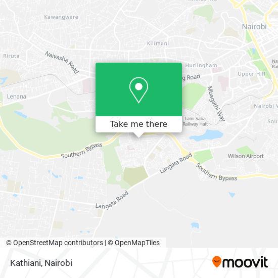 Kathiani map