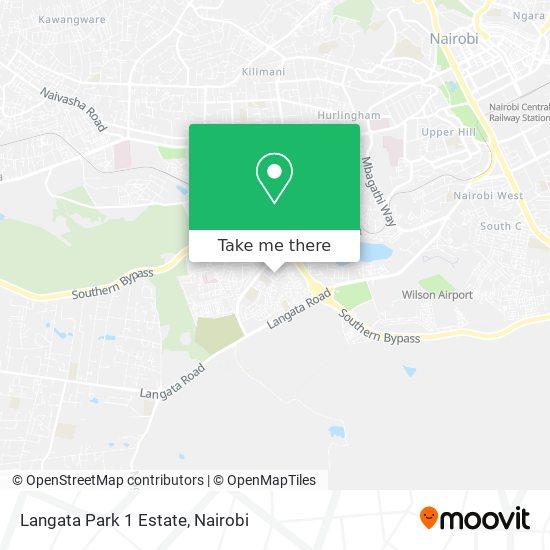 Langata Park 1 Estate map