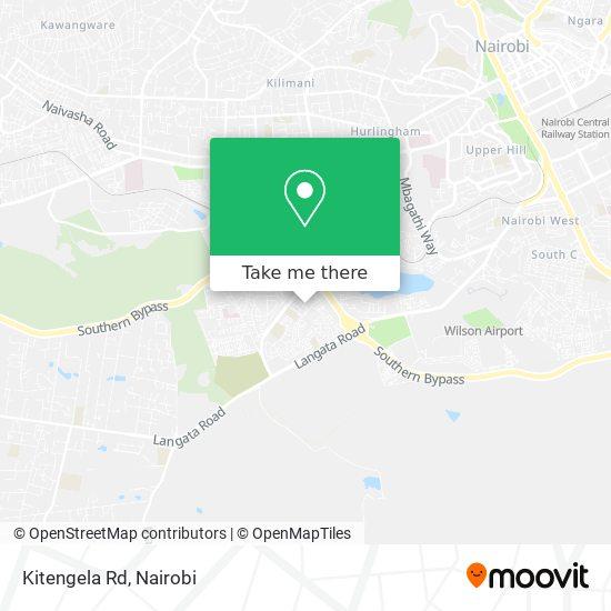 Kitengela Rd map