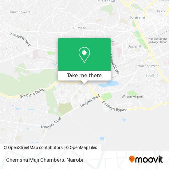 Chemsha Maji Chambers map