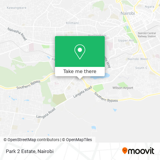 Park 2 Estate map