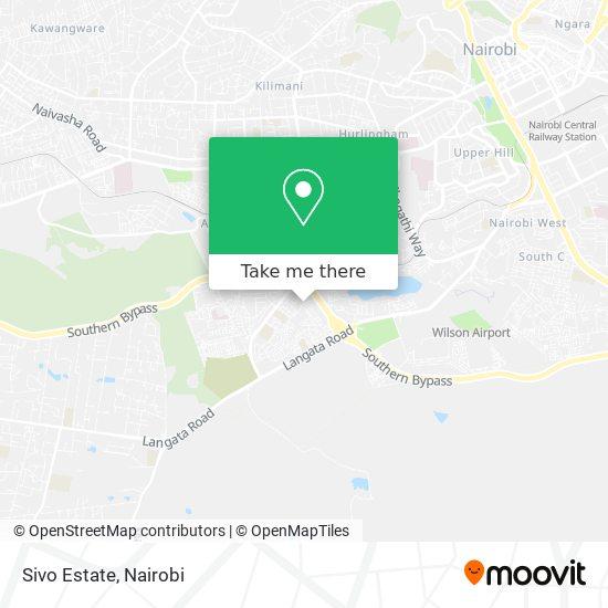 Sivo Estate map