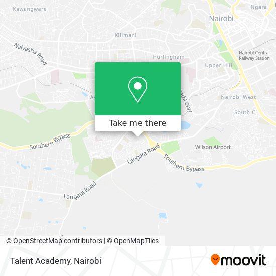 Talent Academy map