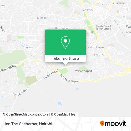 Inn The Chebarbar map