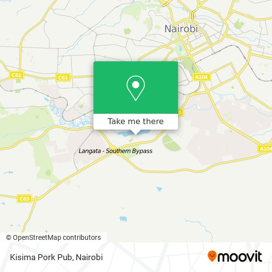 Kisima Pork Pub map