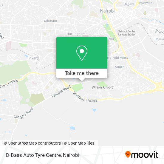 D-Bass Auto Tyre Centre map