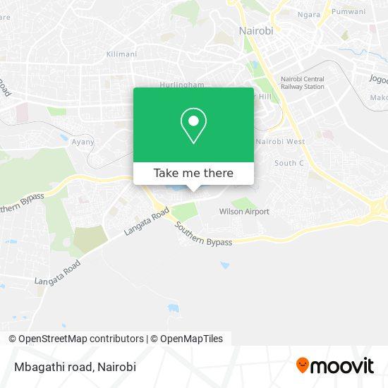 Mbagathi road map