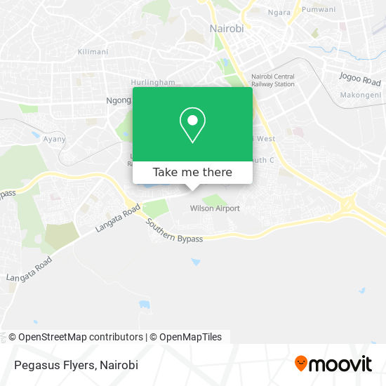 Pegasus Flyers map
