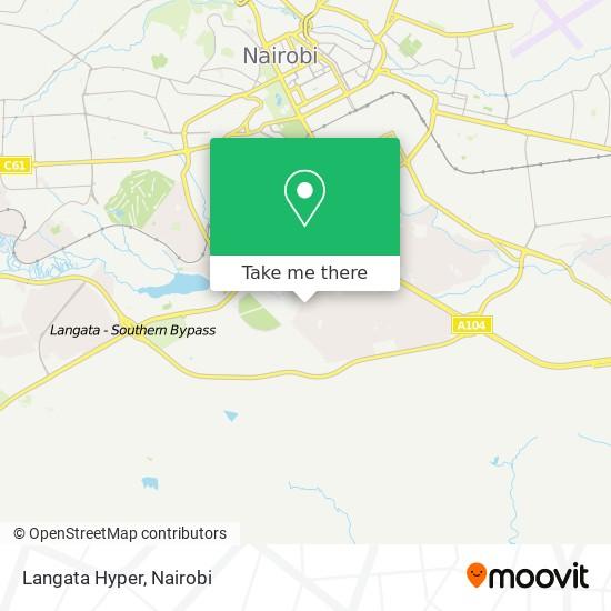 Langata Hyper map