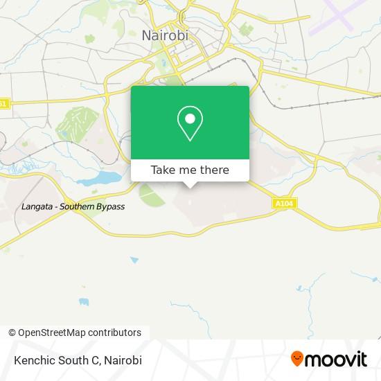 Kenchic South C map