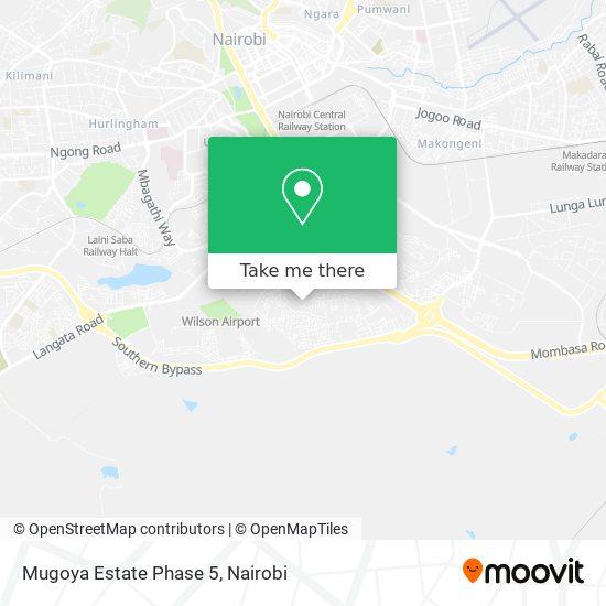 Mugoya Estate Phase 5 map