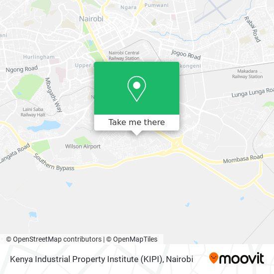 Kenya Industrial Property Institute (KIPI) map
