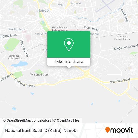 National Bank South C (KEBS) map