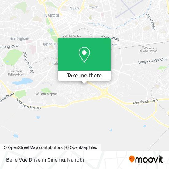 Belle Vue Drive-in Cinema map
