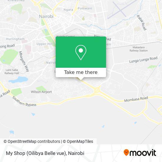 My Shop (Oilibya Belle vue) map
