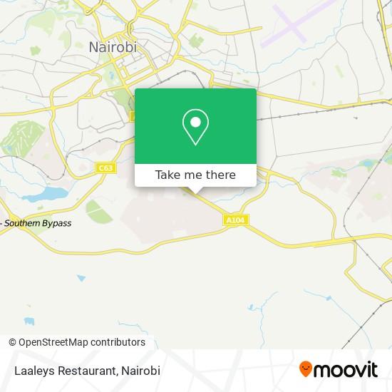Laaleys Restaurant map