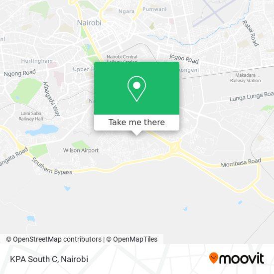 KPA South C map