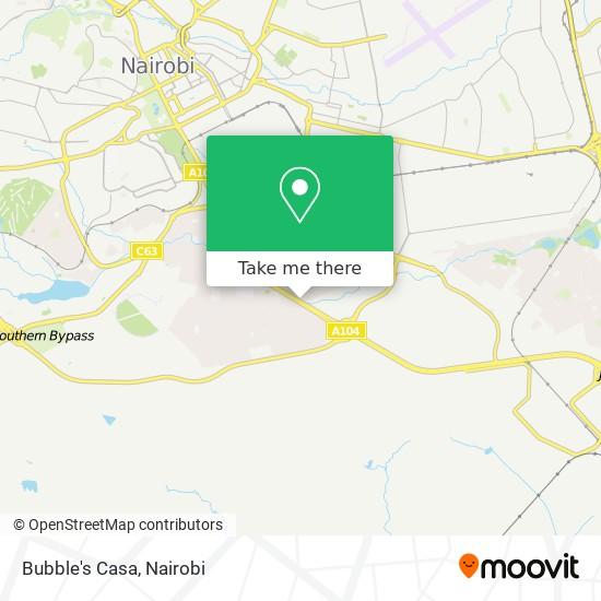 Bubble's Casa map
