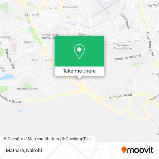 Mathare map