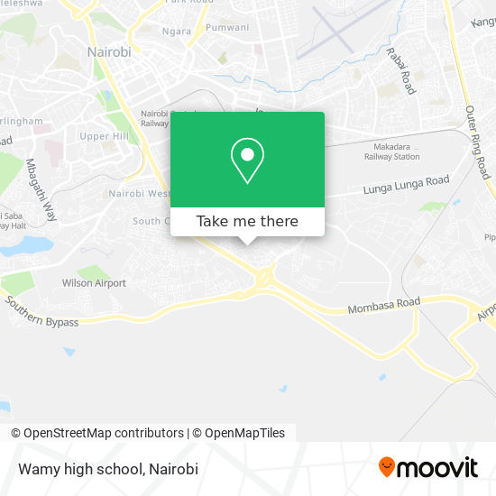 Wamy high school map