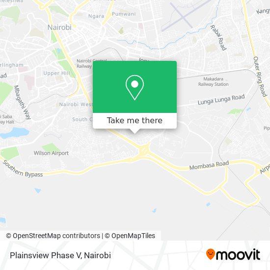 Plainsview Phase V map