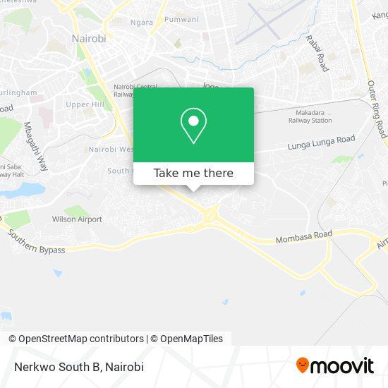 Nerkwo South B map