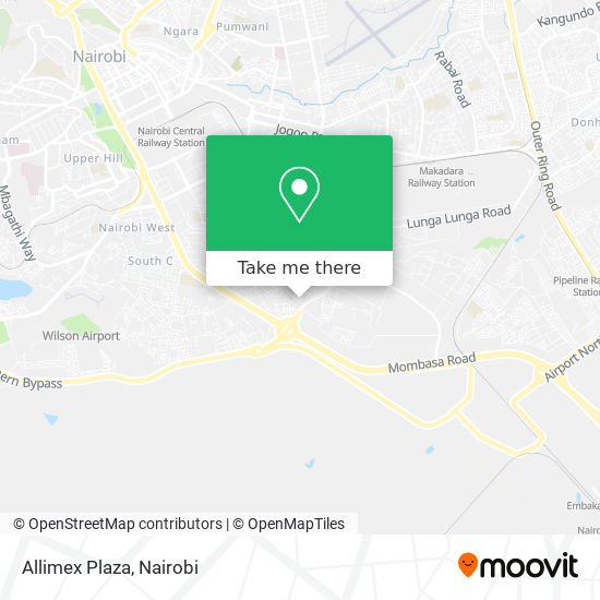 Allimex Plaza map