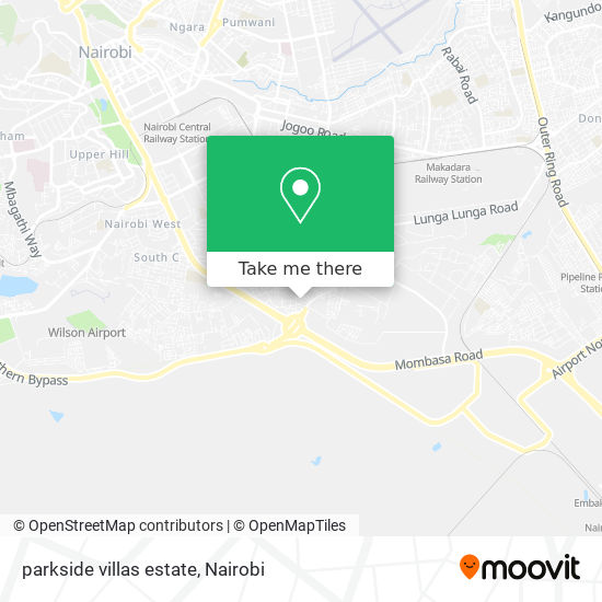 parkside villas estate map