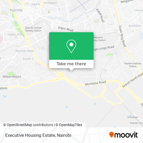 Executive Housing Estate map