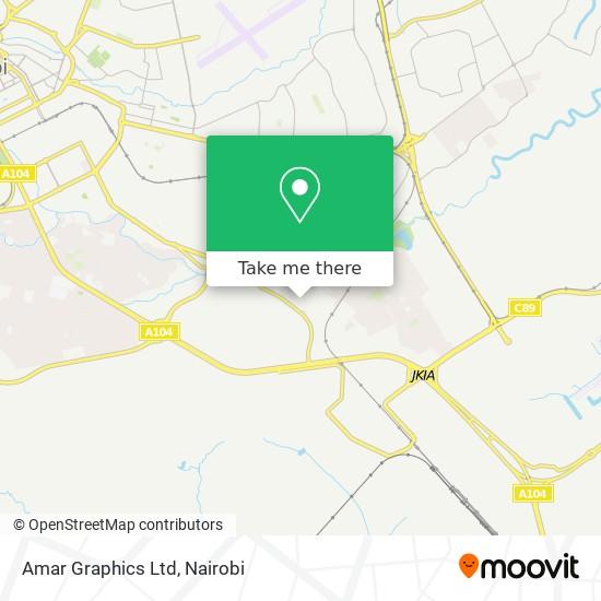 Amar Graphics Ltd map