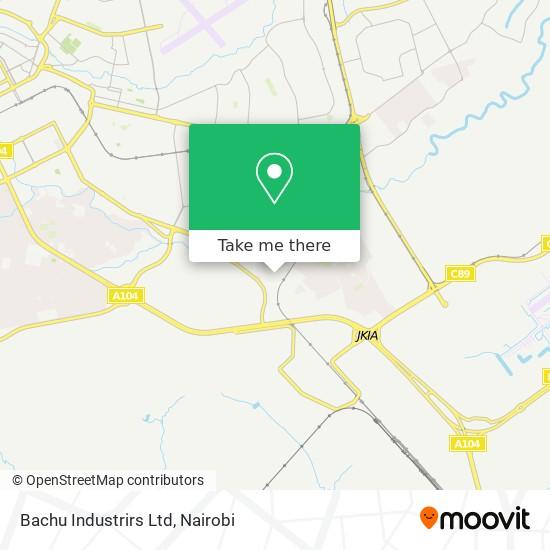 Bachu Industrirs Ltd map