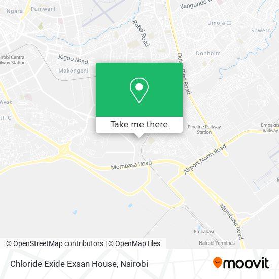 Chloride Exide Exsan House map