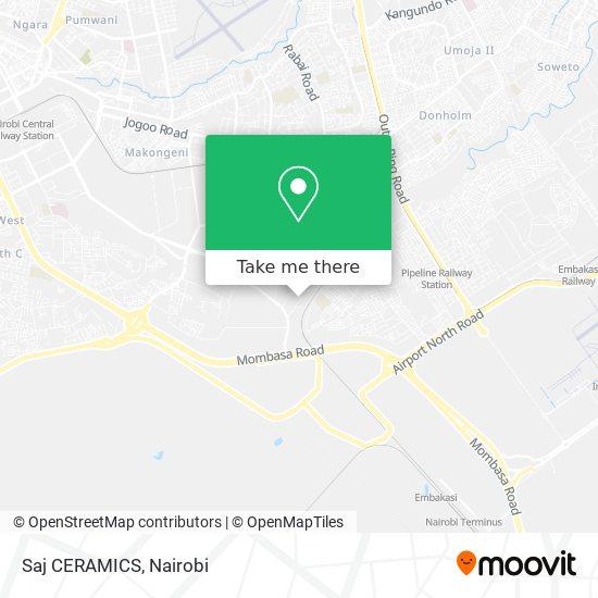 Saj CERAMICS map
