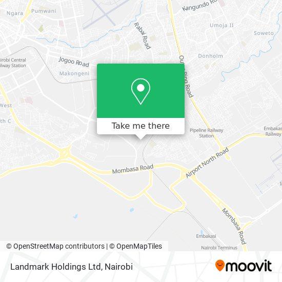 Landmark Holdings Ltd map