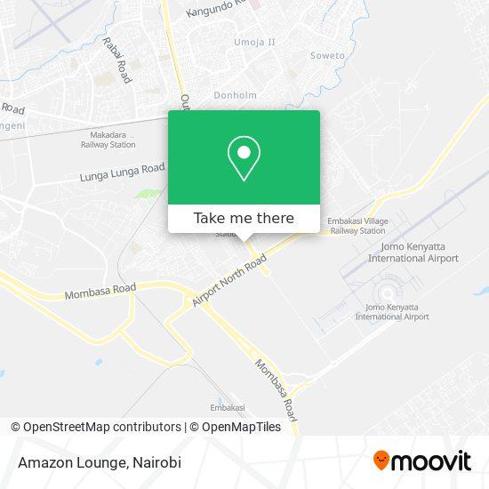 Amazon Lounge map