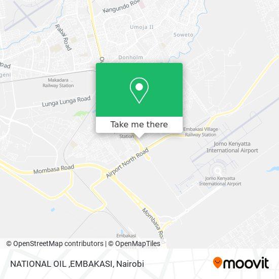 NATIONAL OIL ,EMBAKASI map