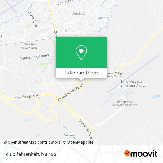 club fahrenheit map