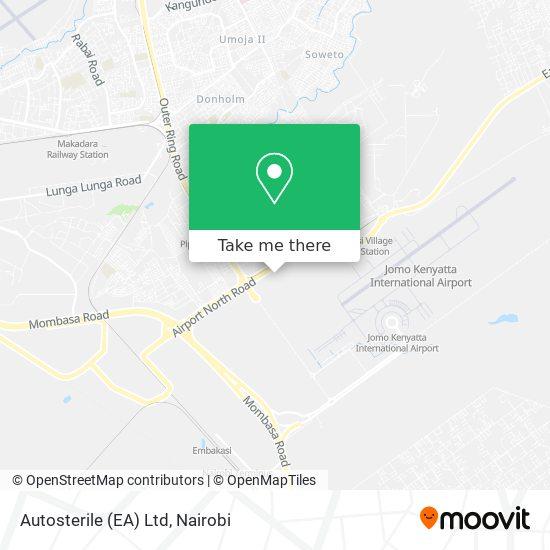 Autosterile (EA) Ltd map