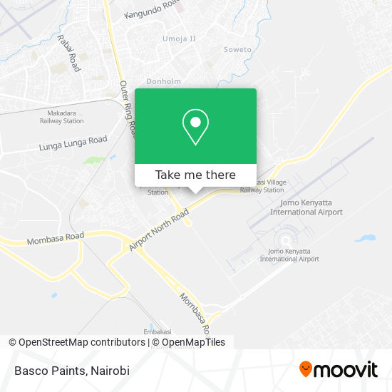 Basco Paints map