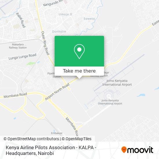 Kenya Airline Pilots Association - KALPA - Headquarters map