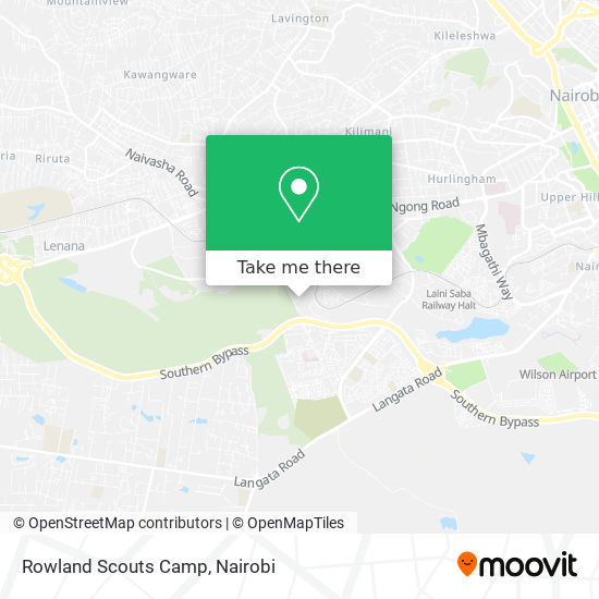 Rowland Scouts Camp map
